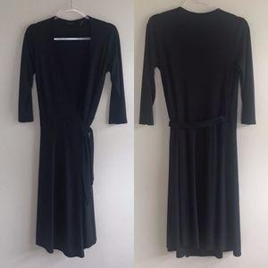 New York & Co. | Black Wrap Dress